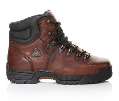 Men's Rocky Mobilite 6 In Steel Toe 6114 Work Boots