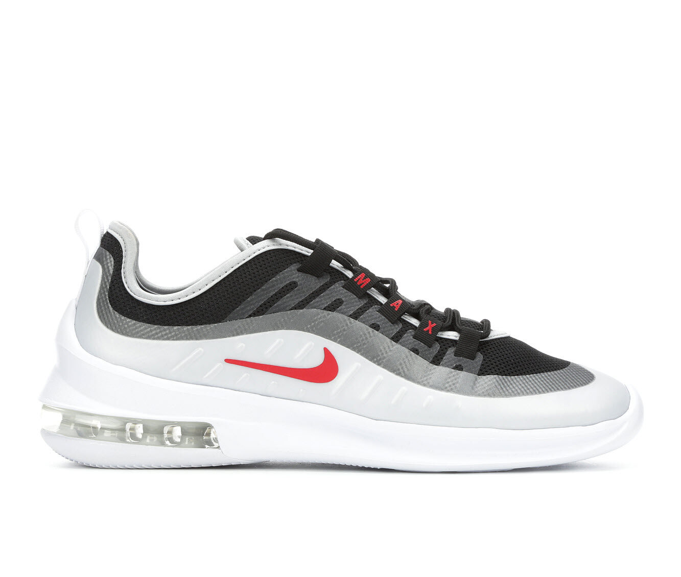 Men's Nike Air Max Axis Running Shoes Wht/Blk/Red 009