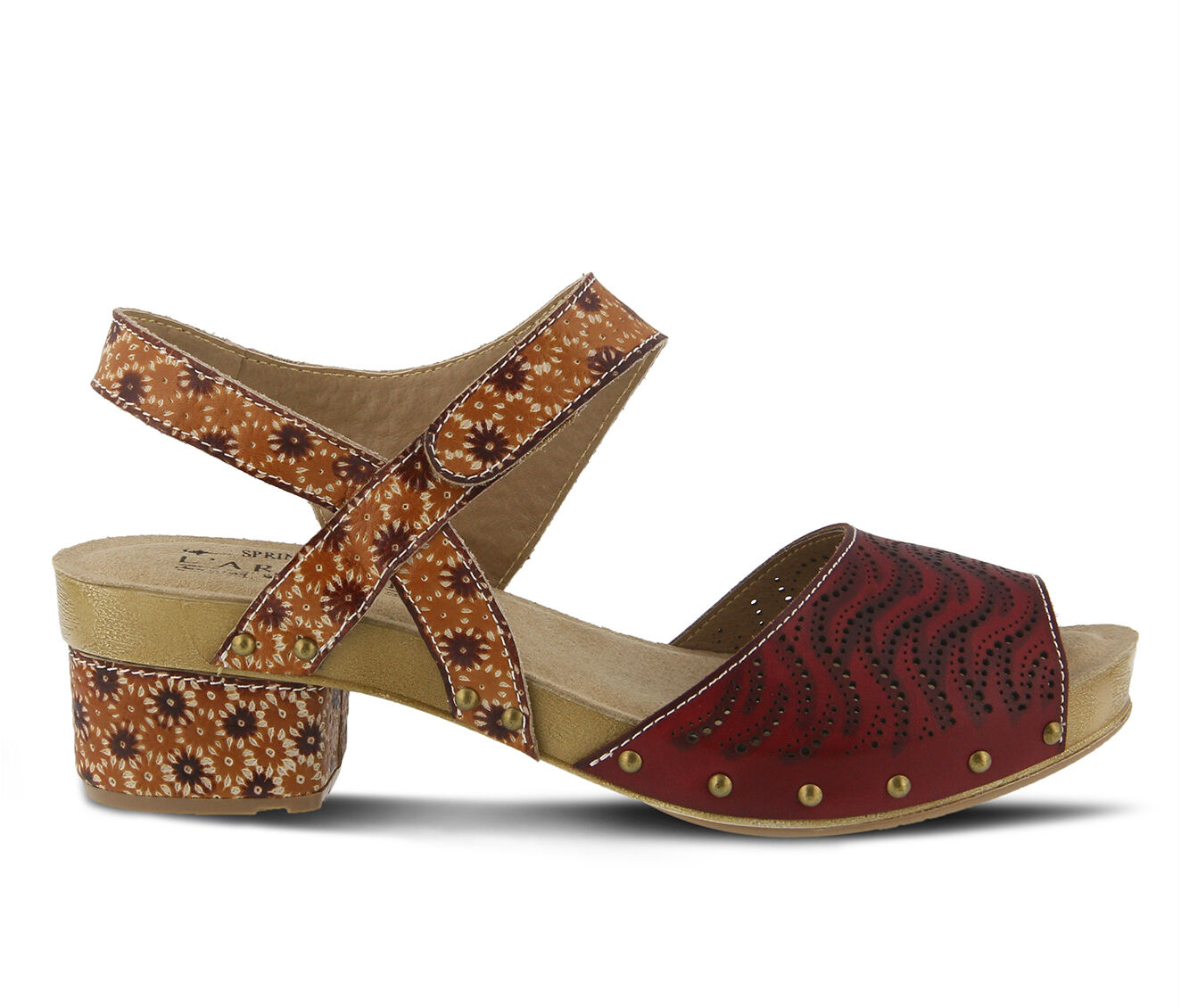 Women's L'ARTISTE Gloga Sandals Camel Multi