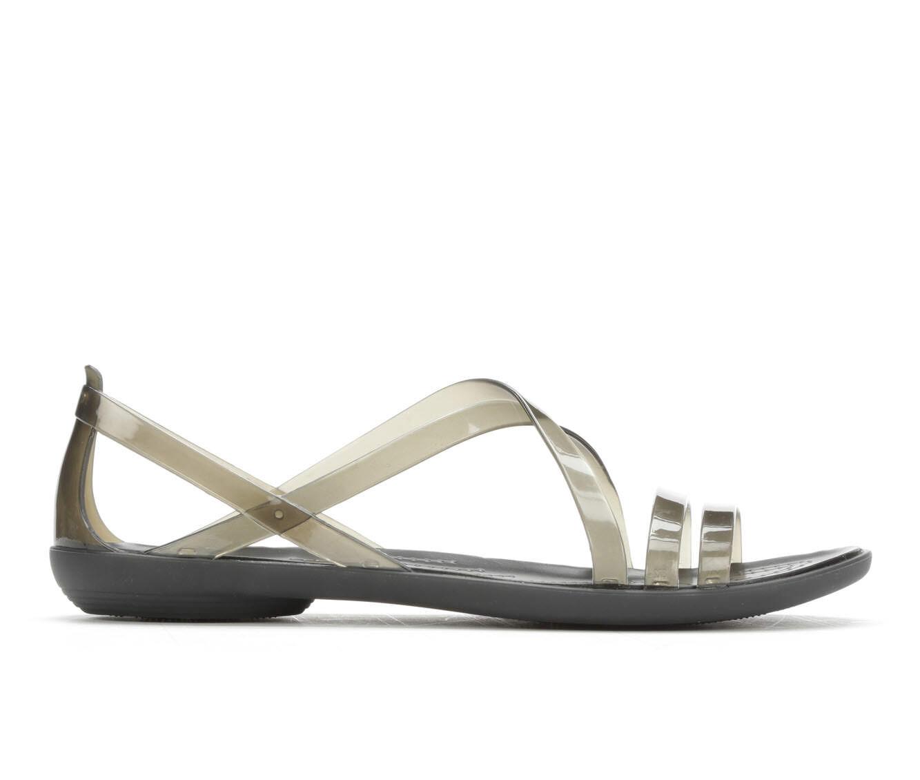 Women's Crocs Isabella Strappy Sandals Black
