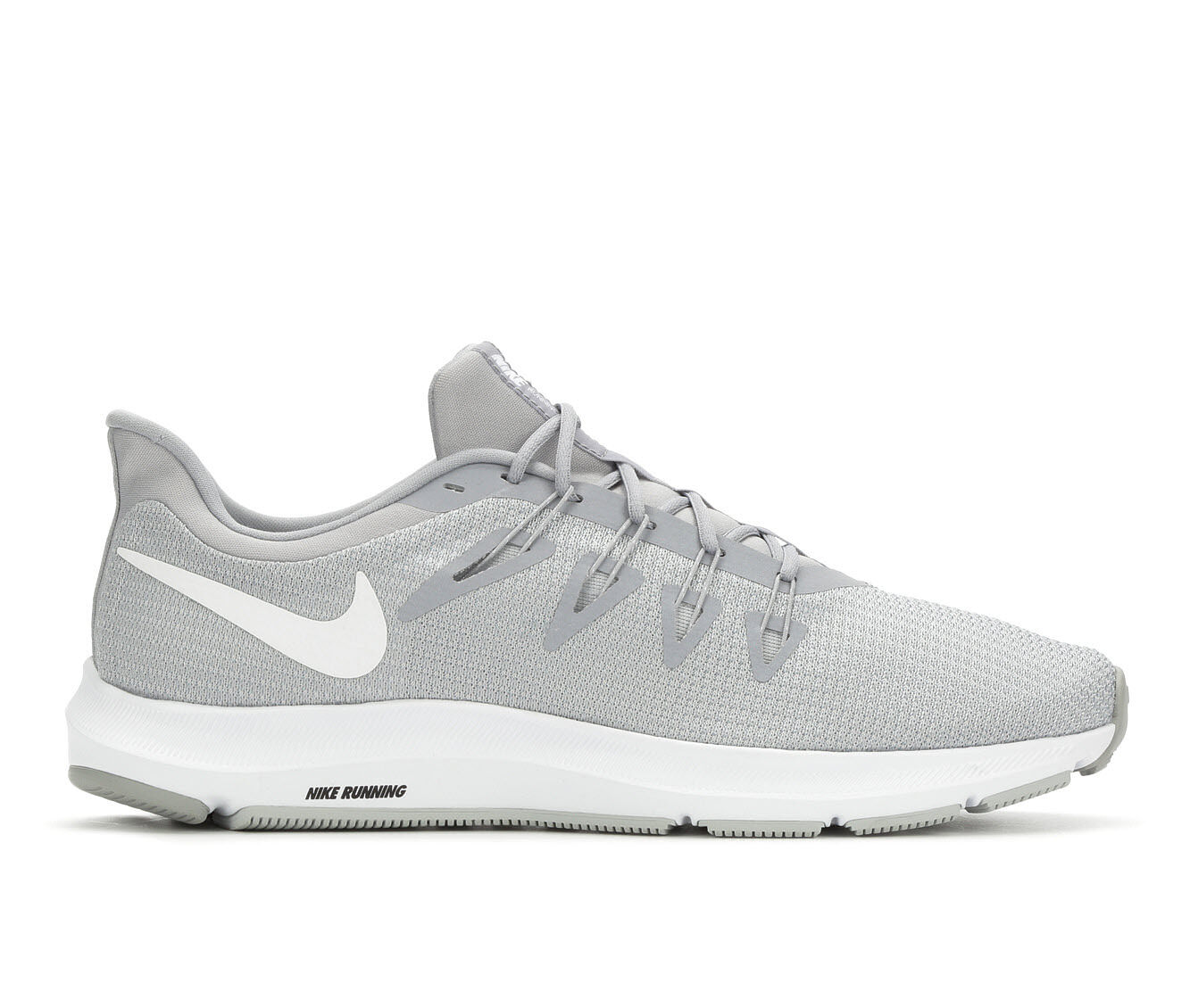 Men's Nike Quest Running Shoes Grey/White
