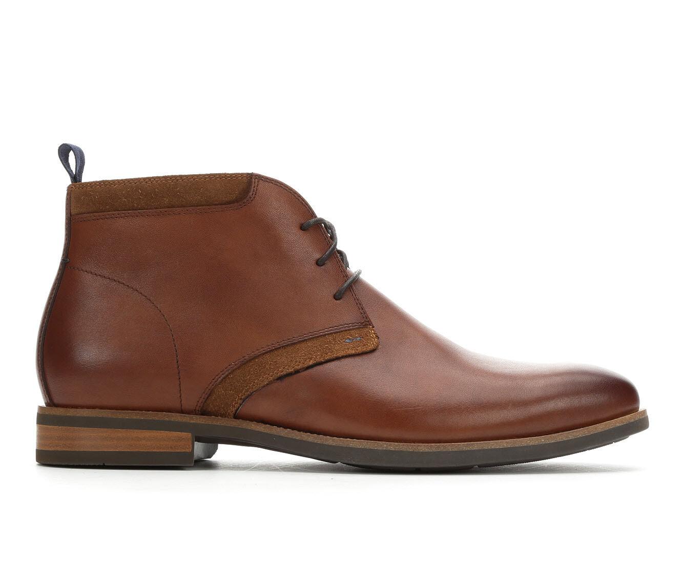 Men's Florsheim Uptown Chukka Boot Dress Shoes Cognac