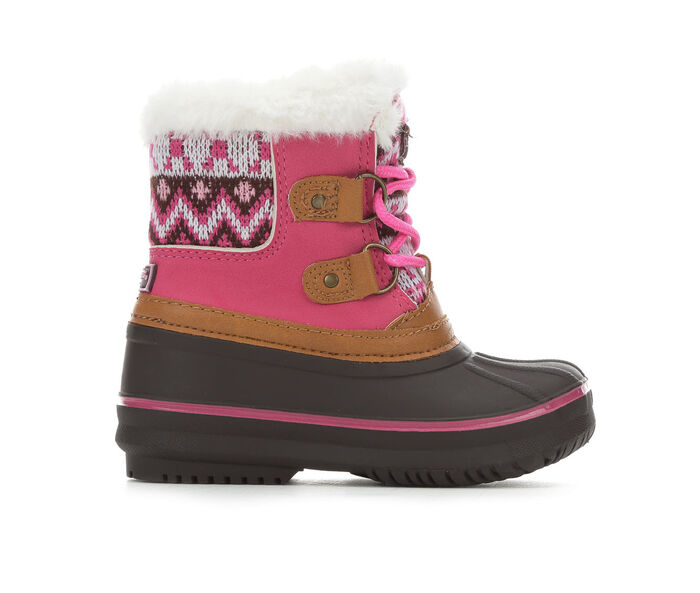 Girls' London Fog Toddler Lil Tottenham Winter Boots