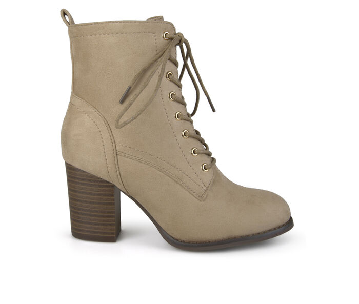 Women's Journee Collection Baylor Lace-Up Booties