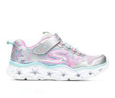 Girls' Skechers Little Kid Galaxy Lights Light-Up Sneakers