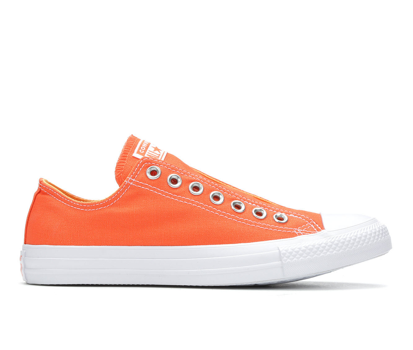 largest discount Women's Converse Chuck Taylor All Star Slip On Sneakers Turf Orange