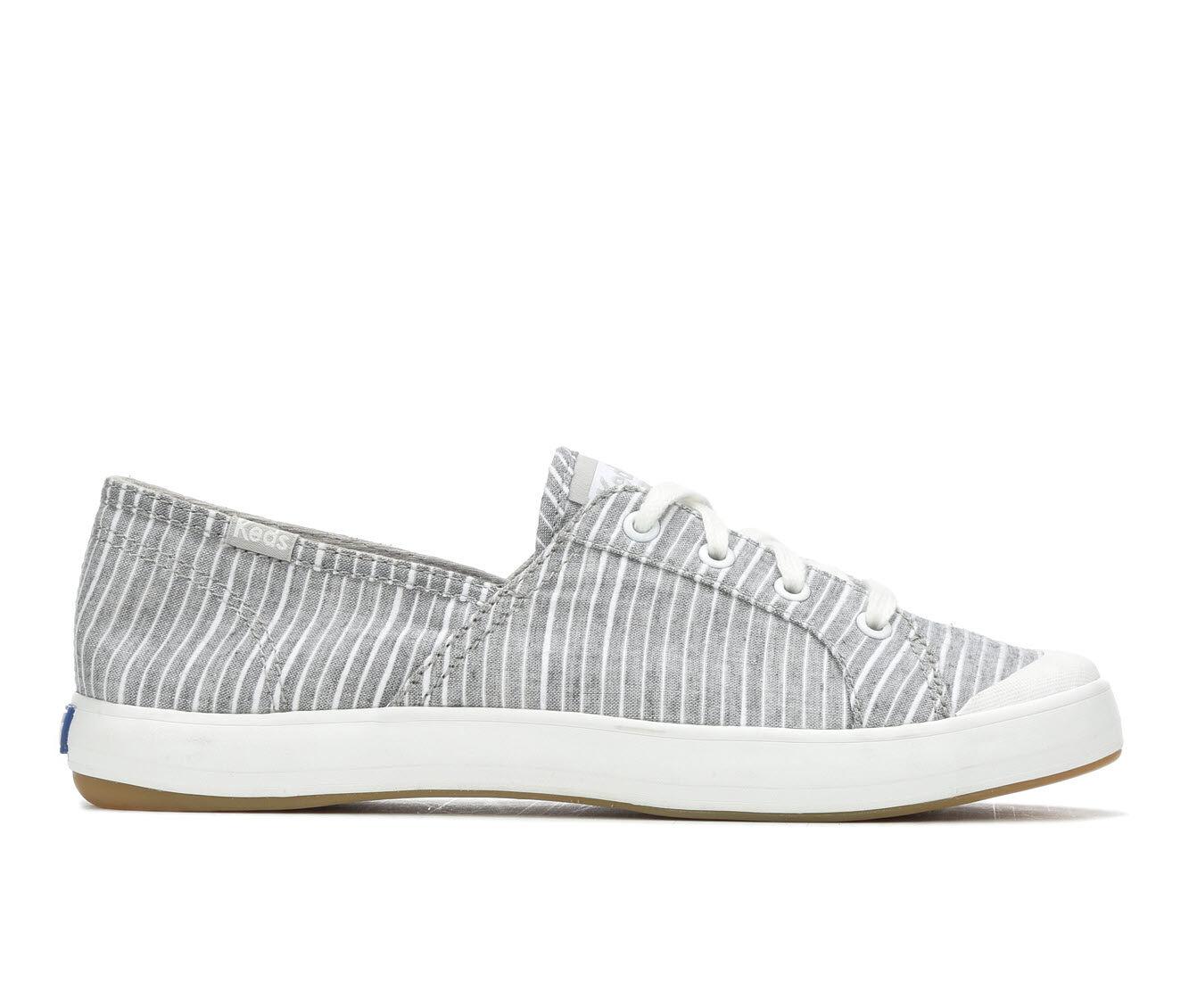 Women's Keds Sandy Stripe Sneakers Charcoal