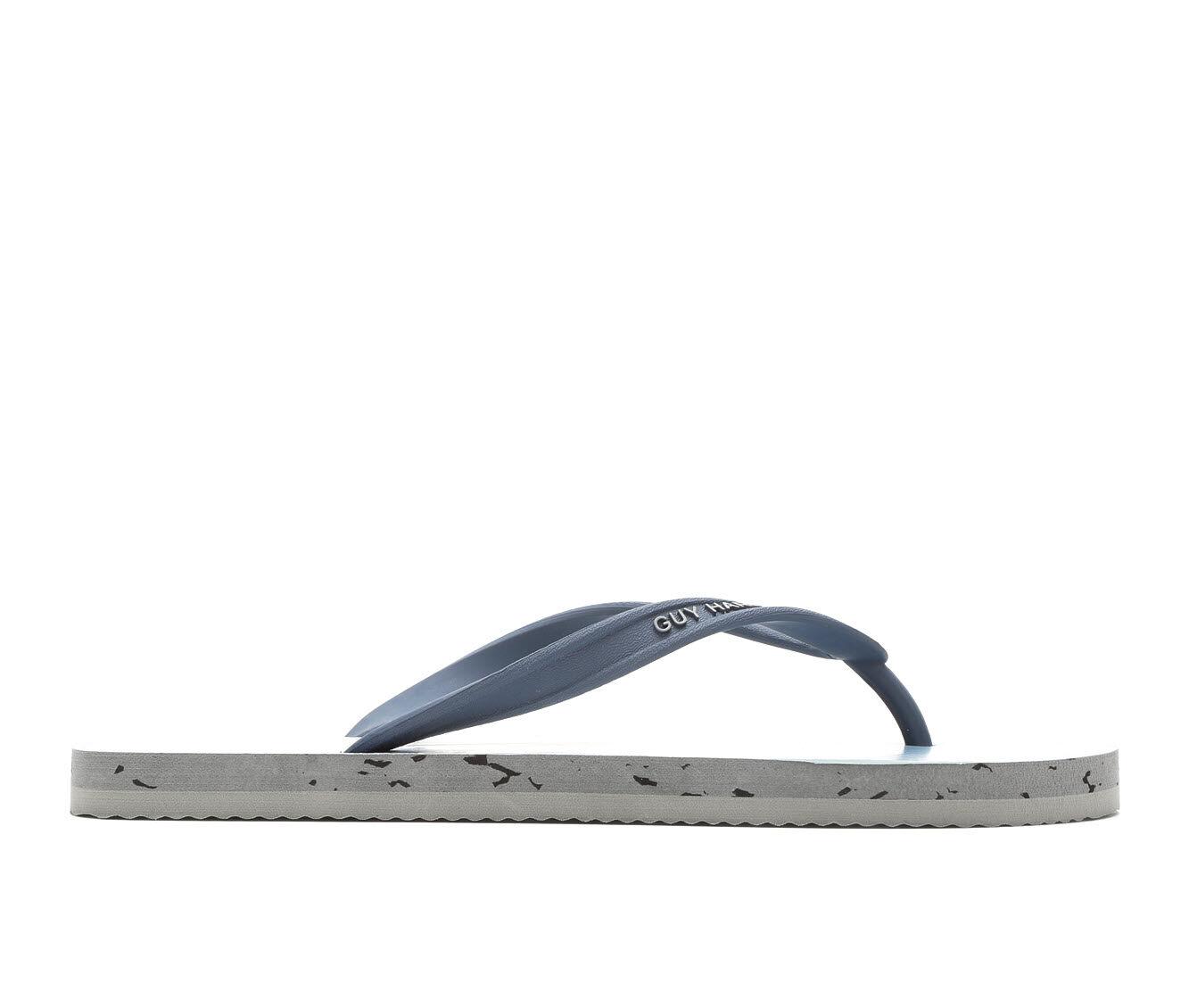 Men's Guy Harvey Cayman Marlin Jump Flip-Flops Blue/Teal/Charc