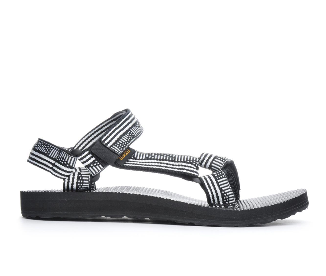 Women's Teva Original Universal Hiking Sandals Black/White