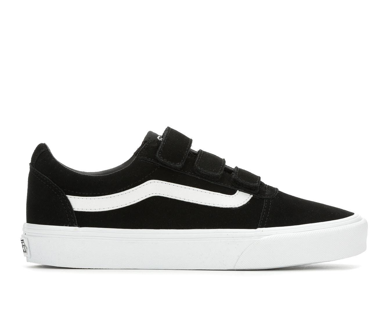 Women's Vans Ward V Skate Shoes Black/White