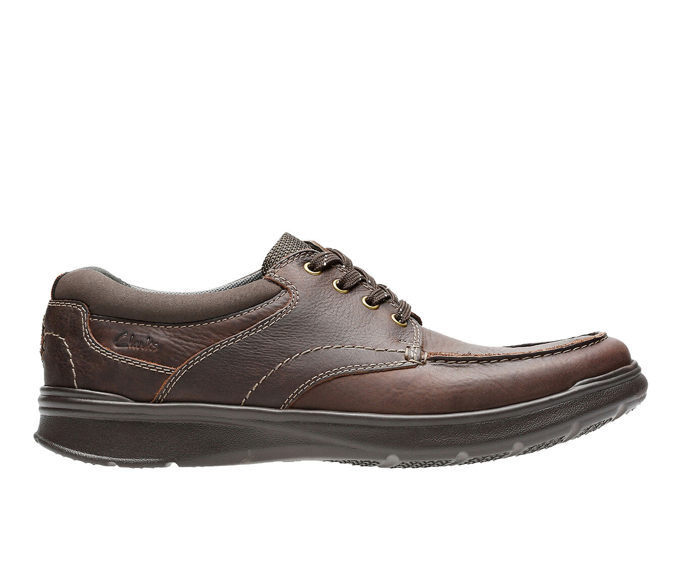 Men's Clarks Cotrell Edge Brown Oily