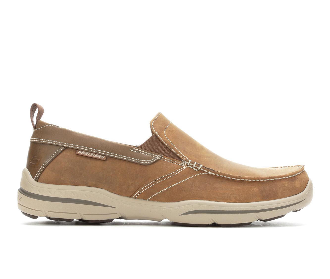 Men's Skechers Forde 64858 Casual Moc Loafers Desert Crazy