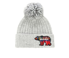 David and Young Mama Bear Pom Hat