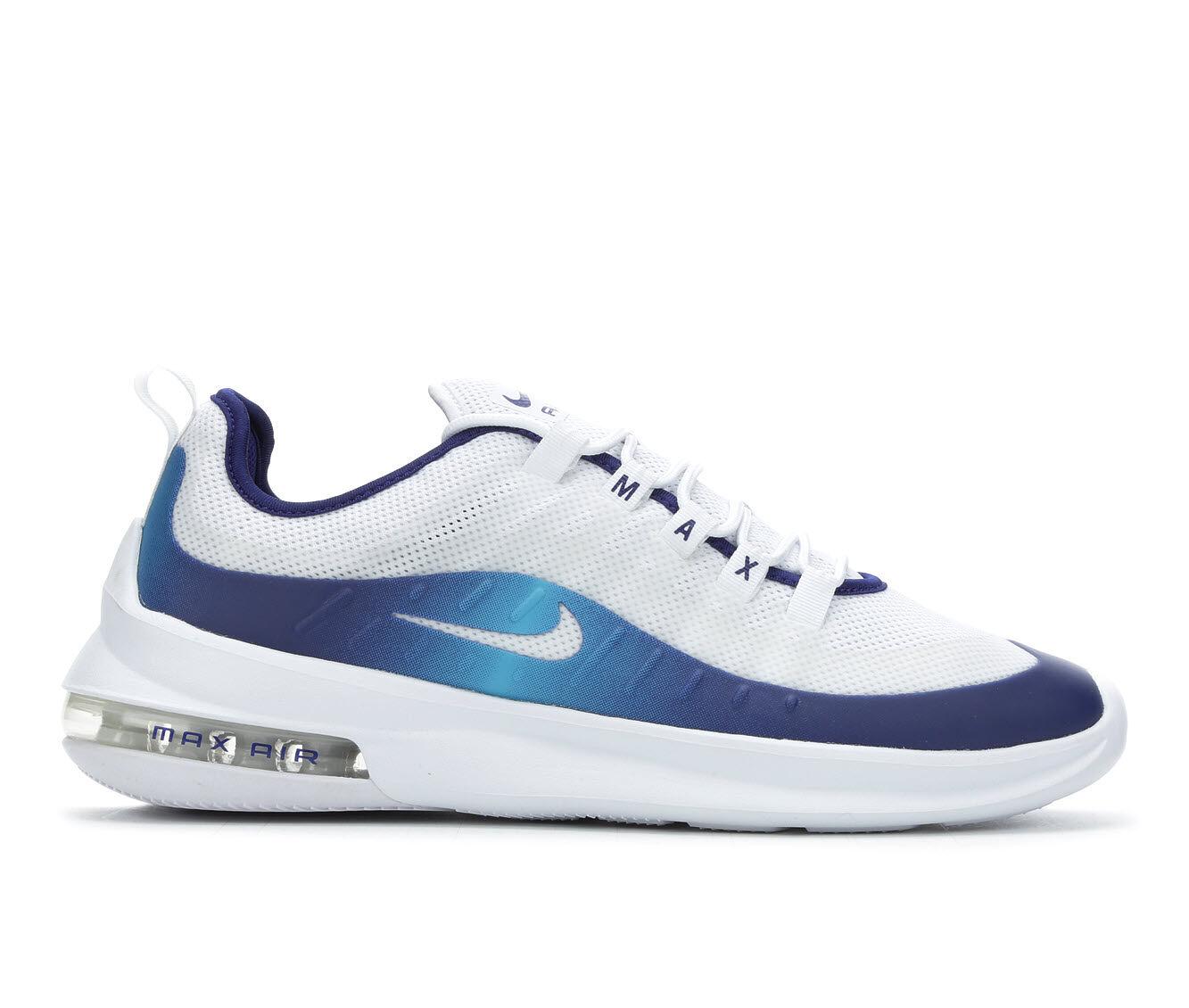 Men's Nike Air Max Axis Premium Sneakers Wht/Nvy/Blu 101