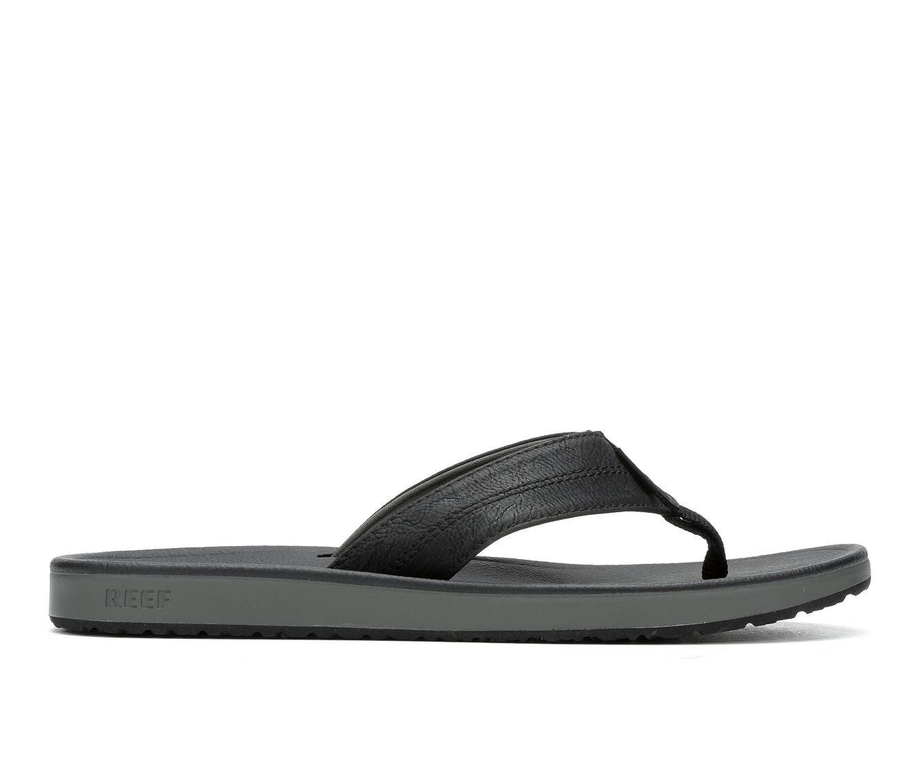 Men's Reef Journeyer Flip-Flops Black/Grey