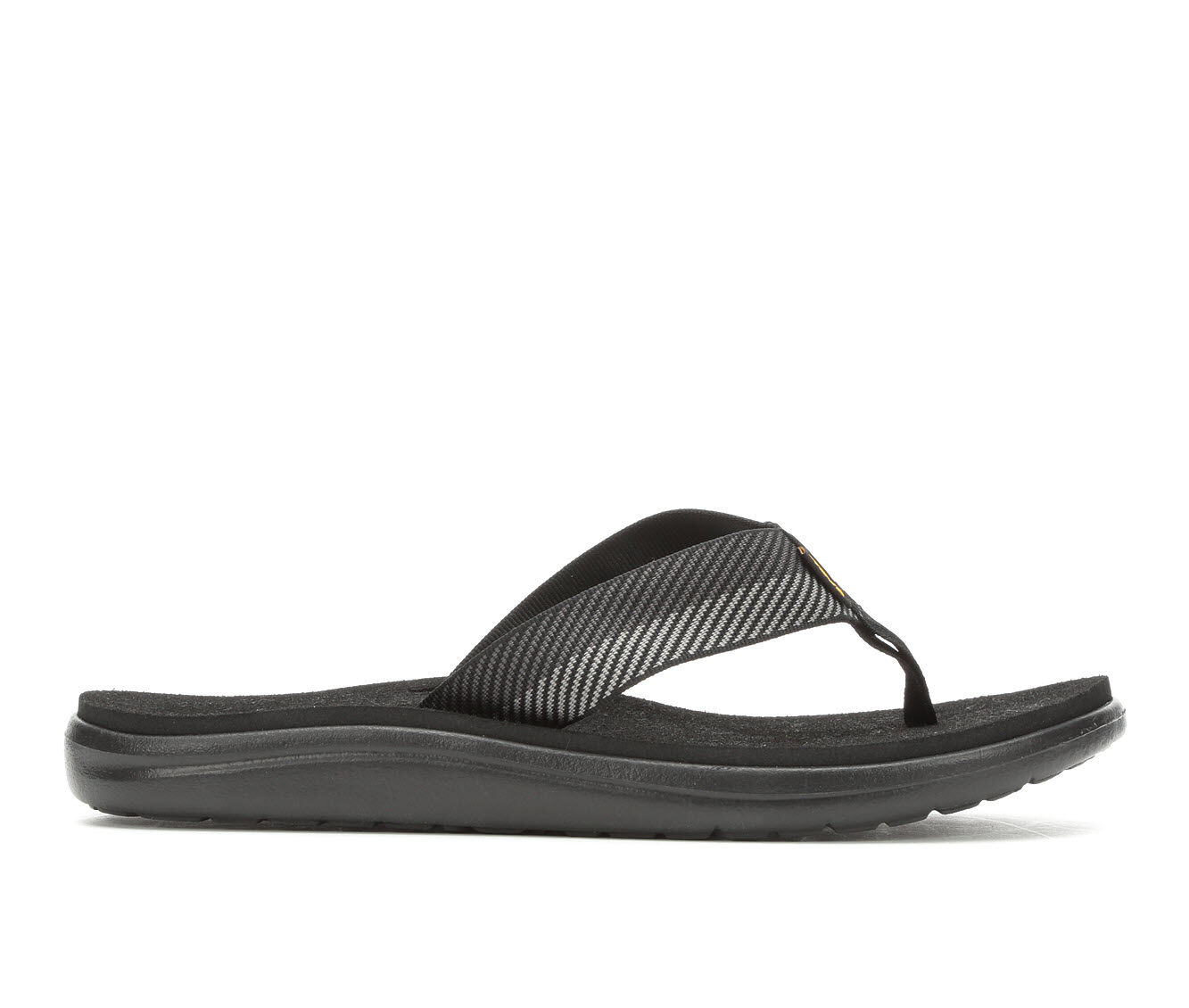 cheapest latest series Men's Teva Voya Flip Flip-Flops Black/Grey