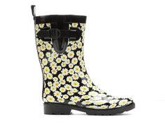 Women's Capelli New York Daisy Bunch Mid Rain Boots