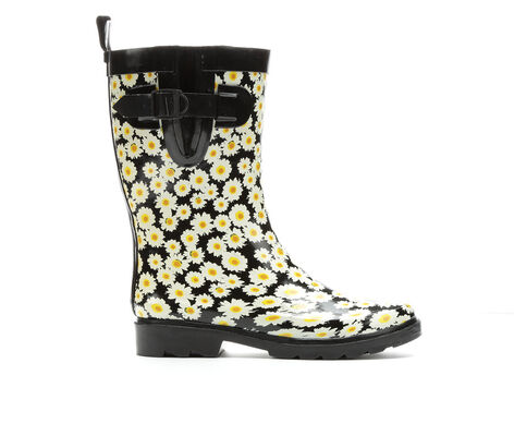 Women's Capelli New York Daisy Bunch Mid Rain Boots
