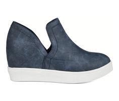 Women's Journee Collection Cardi Wedge Sneakers