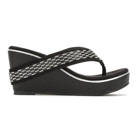 Women's Volatile Carilla Platform Wedge Flip-Flops