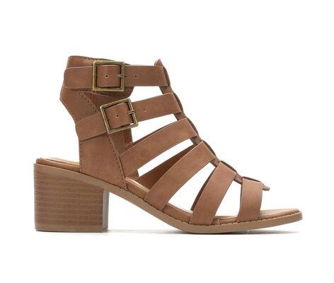 Girls' Y-Not Liz 12-5 Heeled Gladiator Sandals