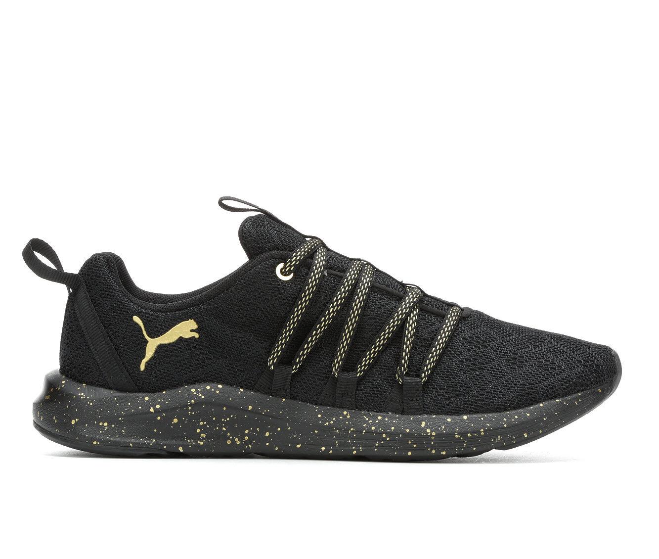 Buy Cheap Women's Puma Prowl Alt Speckle Slip-On Sneakers Black/Gold