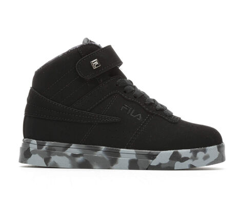 Boys' Fila Vulc 13 Mid Plus Mashup 10.5-7 Sneakers