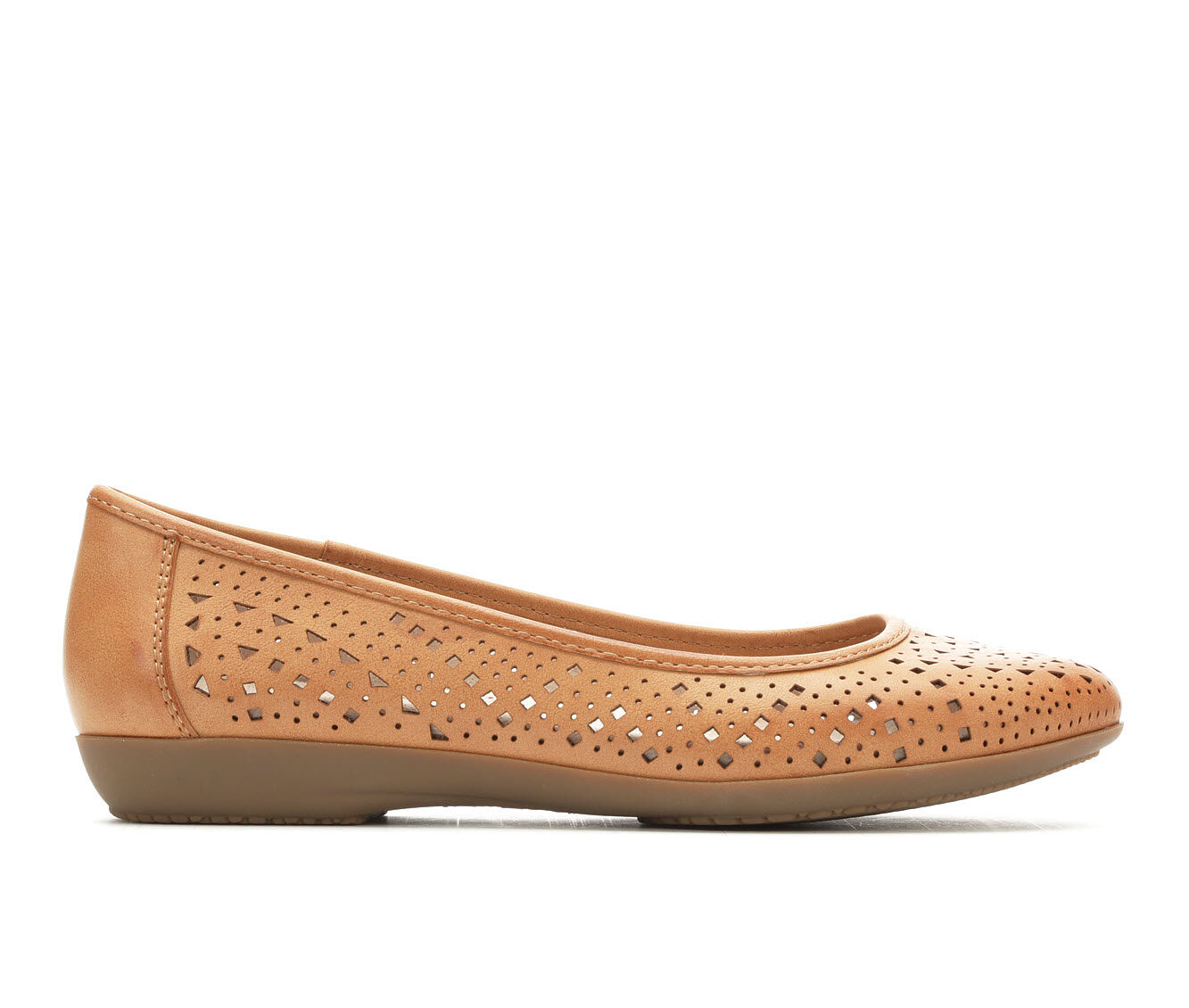 Women's Vintage 7 Eight Claire Flats Tan