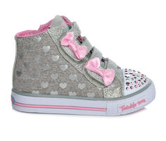 Girls' Skechers Toddler & Little Kid Doodle Days High Top Light-Up Sneakers