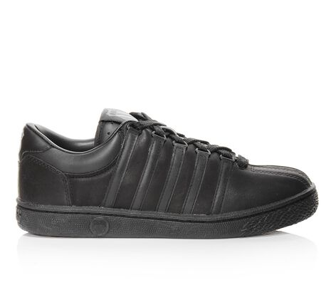 Kids' K-Swiss Classic Black 10.5-3 Retro Sneakers