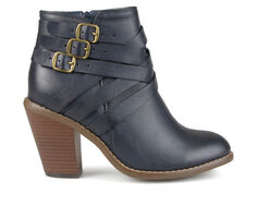 Women's Journee Collection Strap Booties