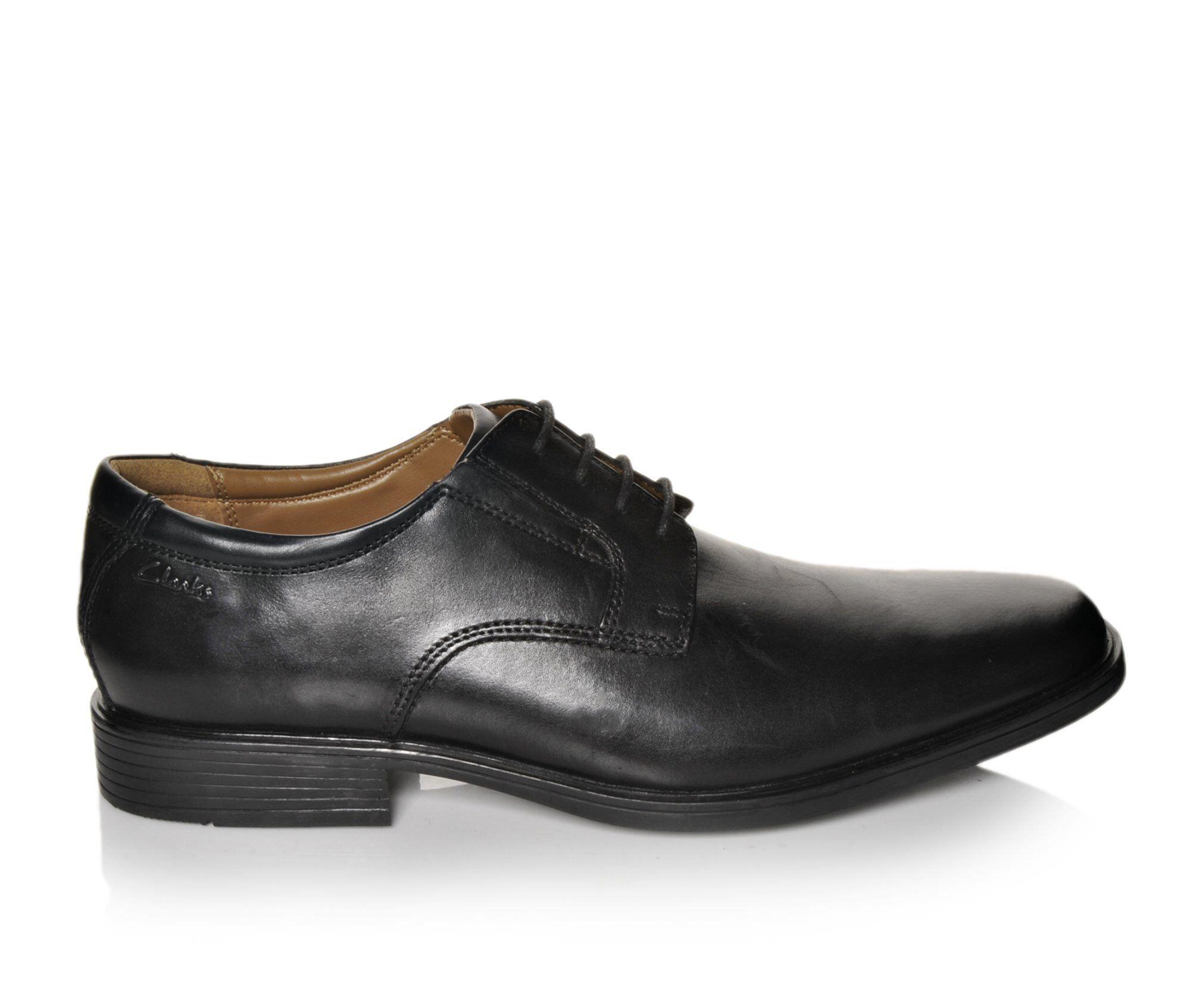 Men's Clarks Tilden Walk Dress Shoes Black