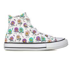Girls' Converse Little Kid & Big Kid Chuck Taylor Hi Friendly Floral Sneakers