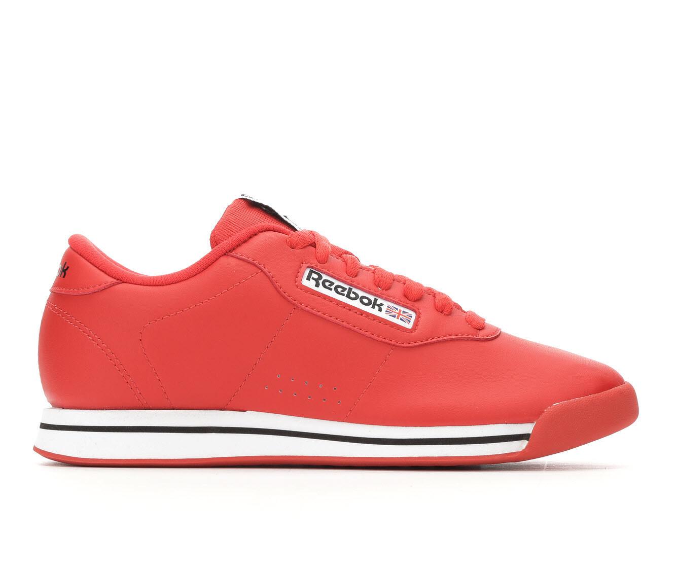 Women's Reebok Princess II Retro Sneakers Red/White/Black
