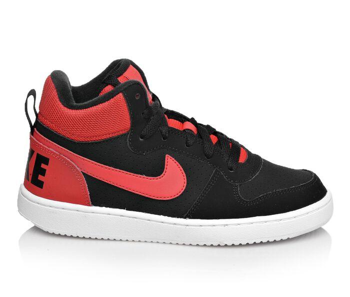 Boys' Nike Court Borough Mid 10.5-3 Sneakers