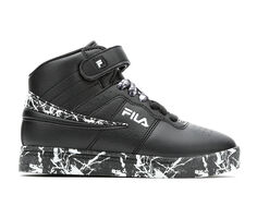Boys' Fila Big Kid Vulc 13 Marble High-Top Sneakers