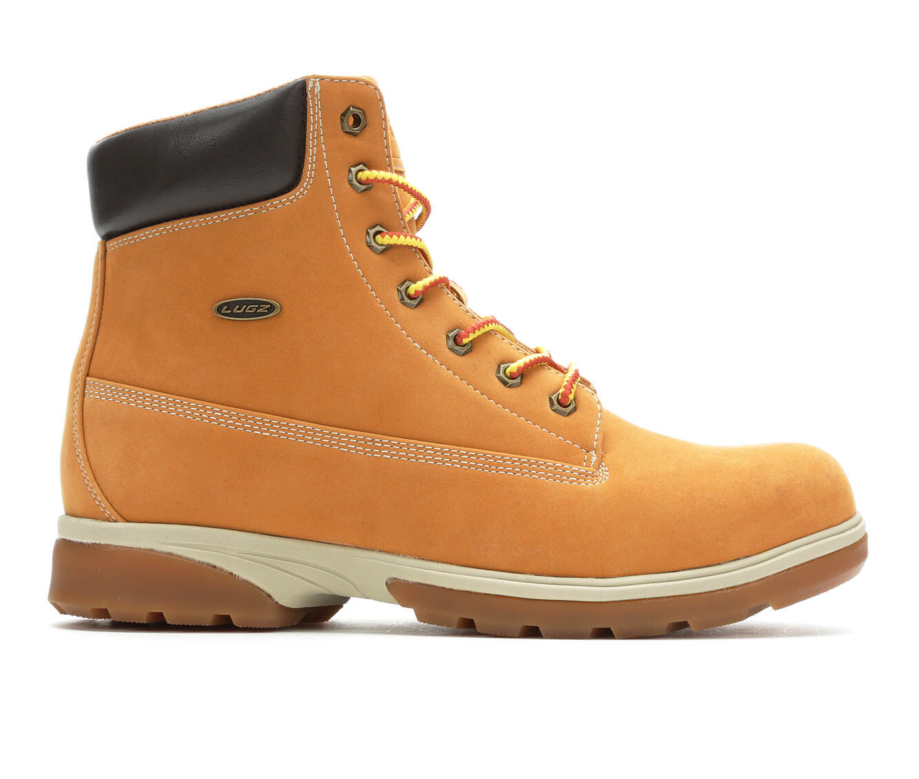 latest series Men's Lugz Drifter Zeolite Hi Boots Golden Wheat