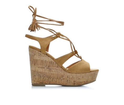 Women's Unr8ed Teresa Lace-Up Platform Wedges
