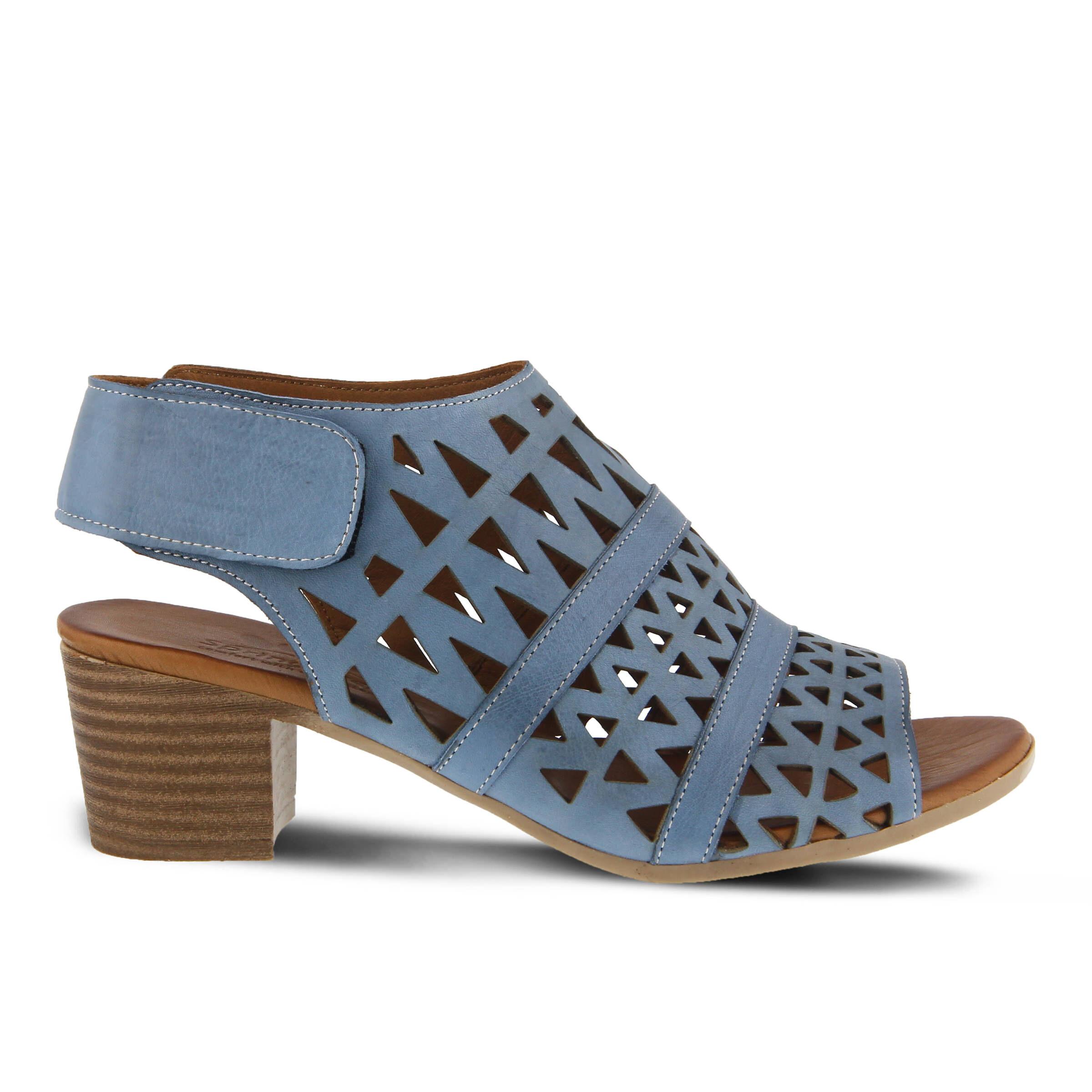 Women's SPRING STEP Dorotha Heeled Sandals Blue