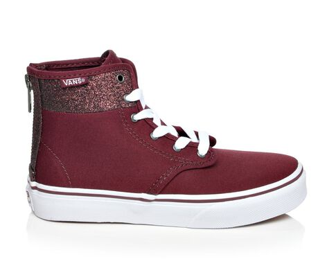 Girls' Vans Camden Hi Zip 10.5-7 Skate Shoes