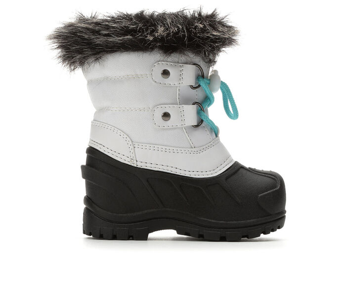 Girls' Itasca Sonoma Toddler Icy White Winter Boots