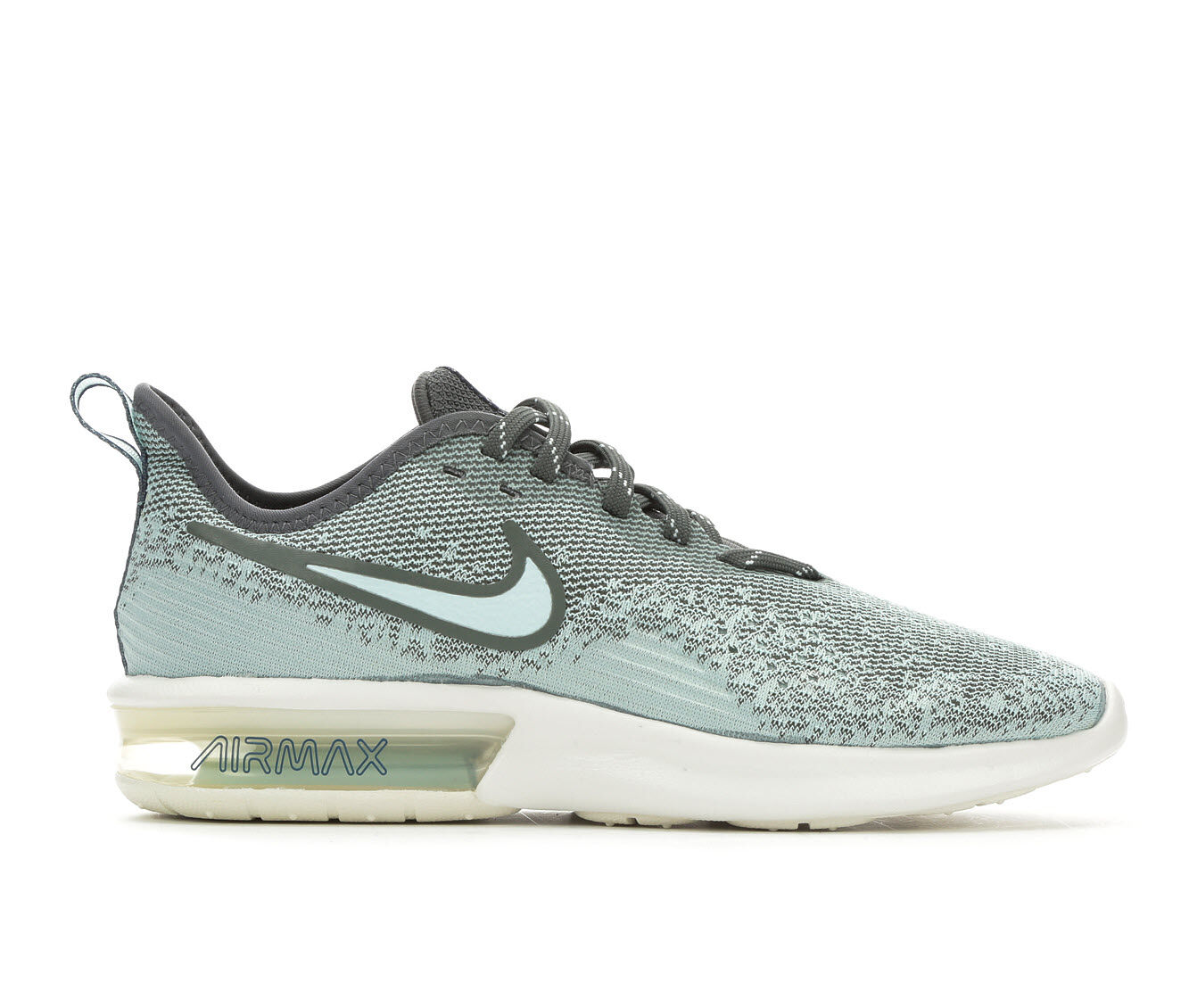Carries New Women's Nike Air Max Sequent 4 Running Shoes Green/Teal/Wht