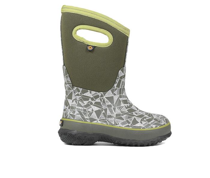Boys' Bogs Footwear Toddler & Little Kid & Big Kid Classic Maze Geo Winter Boots