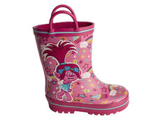 Girls' Marvel Toddler & Little Kid Trolls Rain Boots