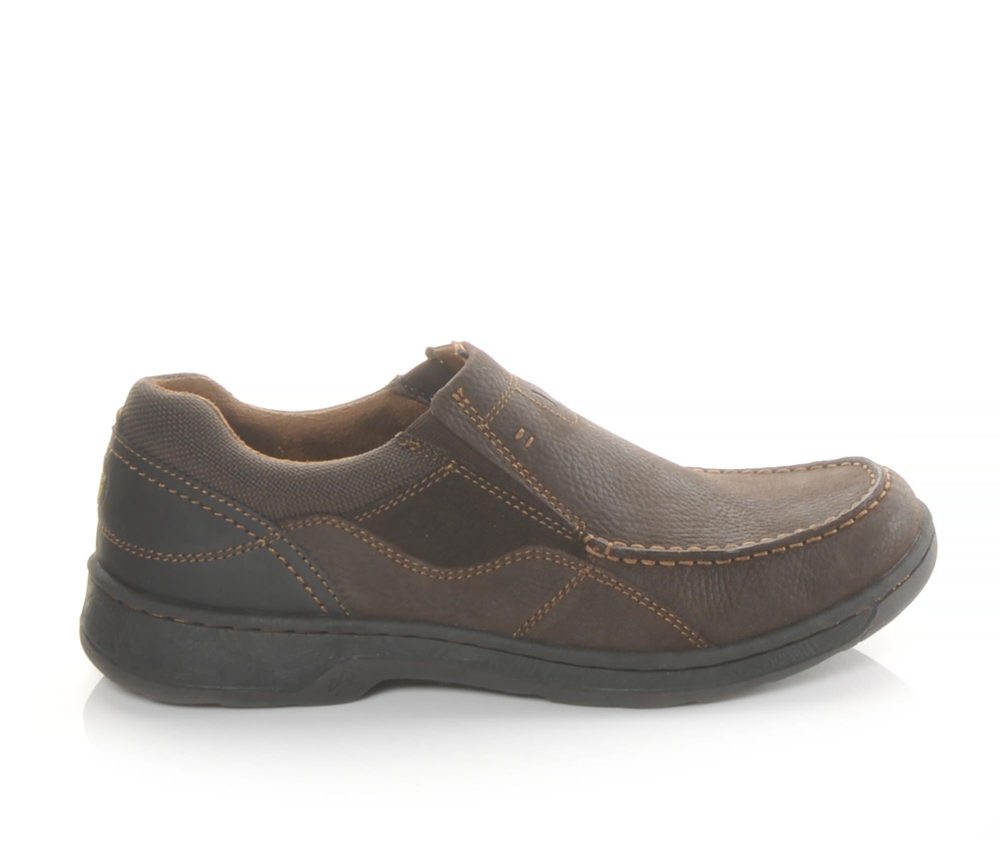 Men's Nunn Bush Brookston Slip-On Shoes Brown
