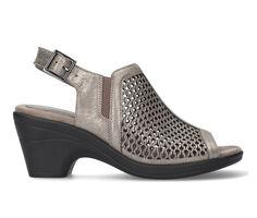 Women's Easy Street Riza Peep Toe Heeled Sandals