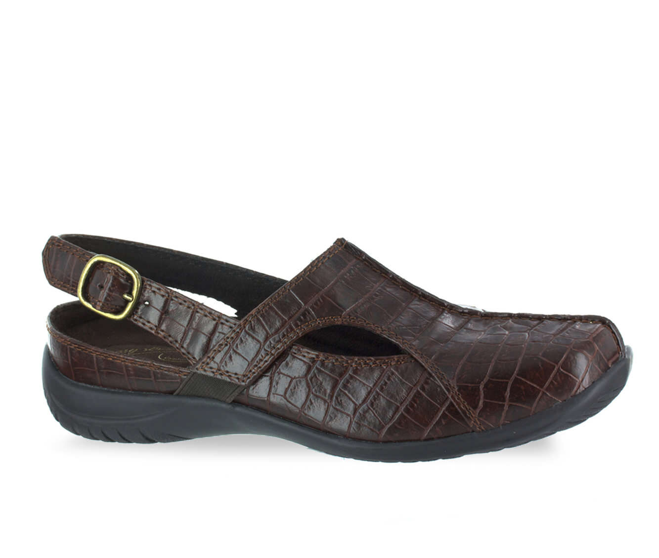Women's Easy Street Sportser Shoes Brown Croco