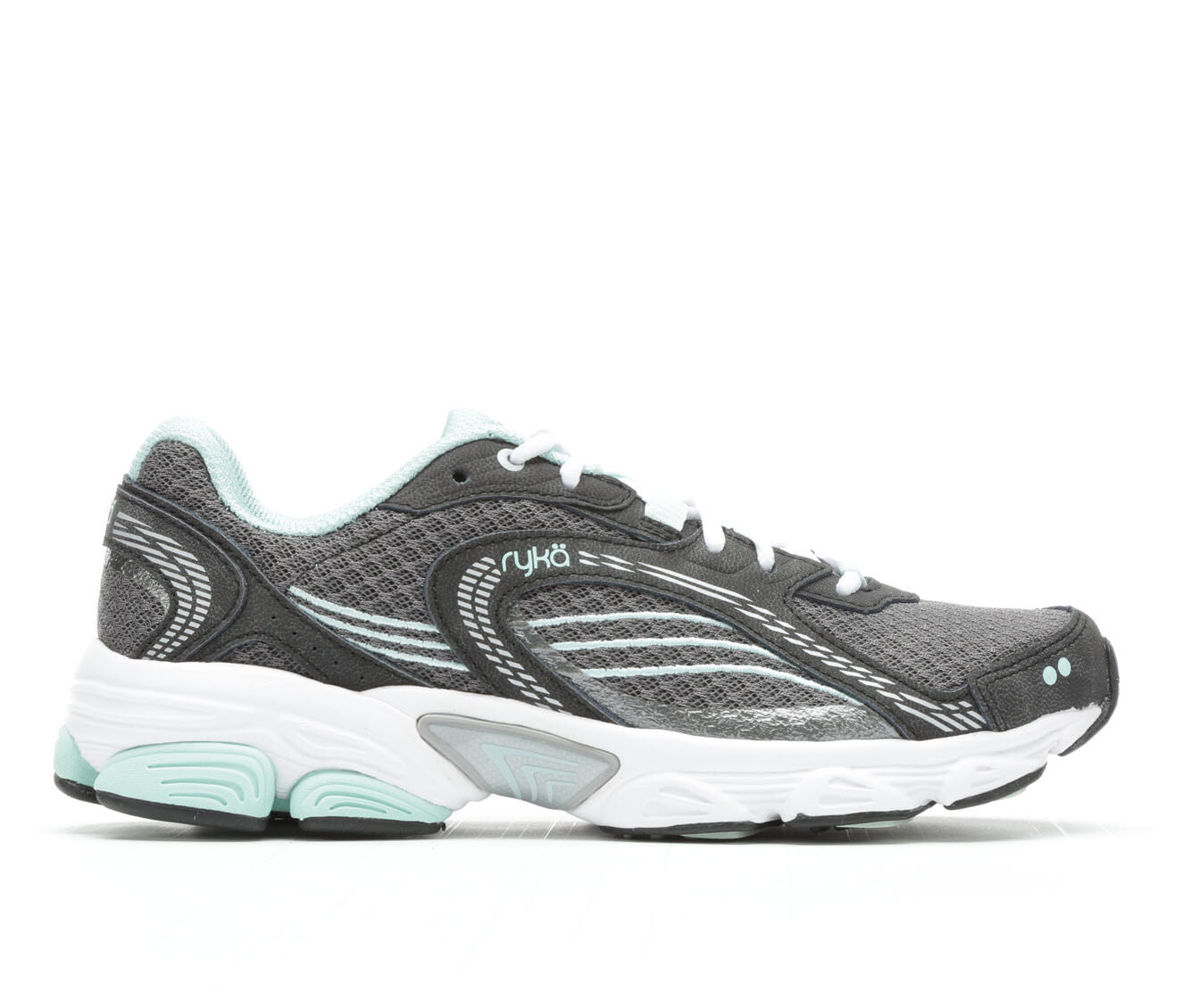 largest discount Women's Ryka Ultimate Running Shoes Grey/Mint/Silv