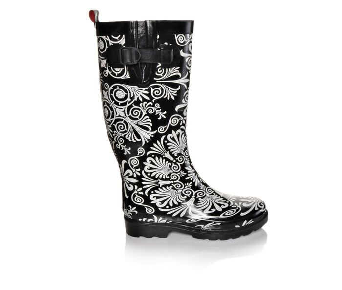 Women's Capelli New York Ornate Medallions Rain Boots