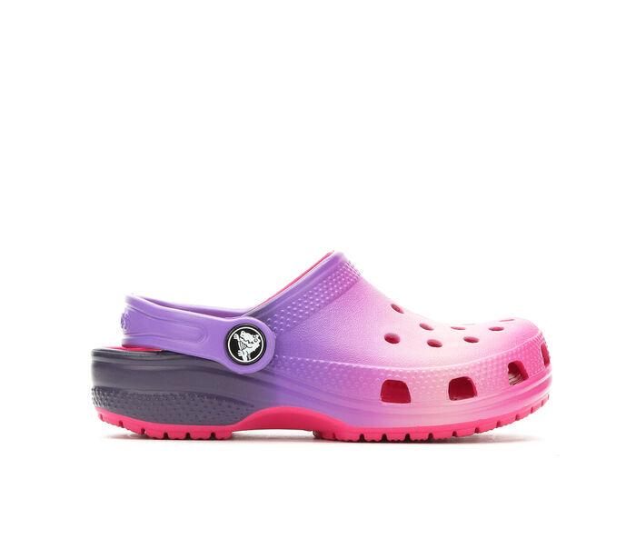 Girls' Crocs Little Kid Classic Ombre Clog